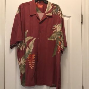 Three Tommy Bahama button down shirts